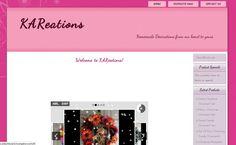 Custom theme for kareations.com  Not for reuse