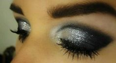 silver eye makeup for brown eyes - Hledat Googlem