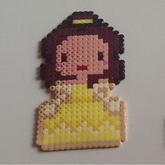 Belle  hama beads by Anca
