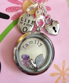 A Living Locket a customer designed for her sister.