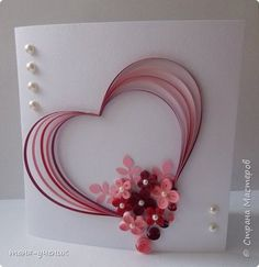 Neli Quilling, Paper Quilling Cards, Paper Quilling Flowers, Paper Quilling Tutorial, Paper Quilling Patterns, Quilled Paper Art, Quilling Paper Craft, Quilling Work, Quilled Creations
