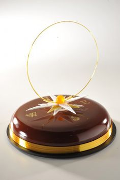 """Julien Alvarez / World cup of pastry 2011 / Tarte """"Rose des vents"""" chocolat,mangue, fruit de la passion"""
