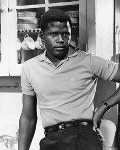 """""""In The Heat Of The Night"""": that scene! The one where he instantly, without hesitation, slaps the wealthy white guy right back. It's perhaps the most thrilling strike in cinematic history. More is going on in Poitier's eyes in that moment than I've seen in most actors' entire films."""