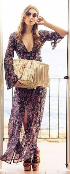 3eae5ac5fb44f  Spring  Outfits  2018 Summer Maxi Dress Maxis