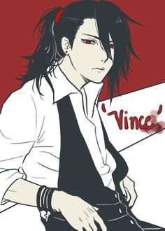 Vincent valentine<<< I don't know what happened to Vincent, but I'm totally okay with it