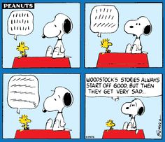 A story by Woodstock.