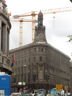 Poorly Building being saved in Madrid