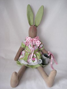 Bunny/ Rabbit doll/Bunny doll/ Tilda bunny/Easter bunny/Easter home decoration/Hare/