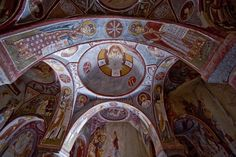 Cappadocia ~ Goreme Cave Church Murals - intricate Byzantine paintings (900-1200AD)