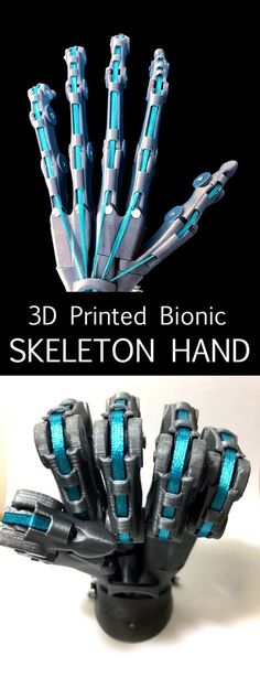 Printed Bionic Hand Skeleton This design was done in such a manner so that all parts can be printed without hassle or supports.This design was done in such a manner so that all parts can be printed without hassle or supports. 3d Printing News, 3d Printing Diy, 3d Printing Service, 3d Printing Technology, Medical Technology, Energy Technology, Medical Engineering, Electrical Engineering, Civil Engineering