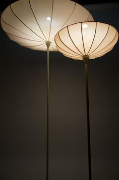 Spring Lamps by Kristine Five Melvær...lovely flower-like shape and glow