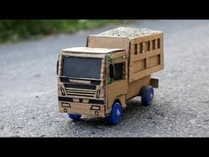 How to make a Powerful Cardboard Truck - Amazing Toy Truck for Kids - YouTube
