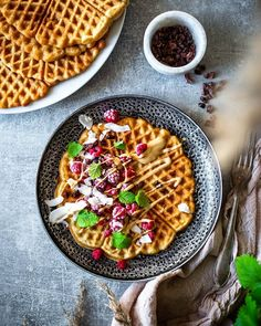 💙🍴 Best of Nordic Food 🍴💙 ✨✨✨ Page founded to feature The Best Nordic Food Images & Recipes ✨✨✨ 📷 Featuring today Waffles by Waffles, Good Things, Breakfast, Recipes, Image, Instagram, Food, Gourmet, Morning Coffee