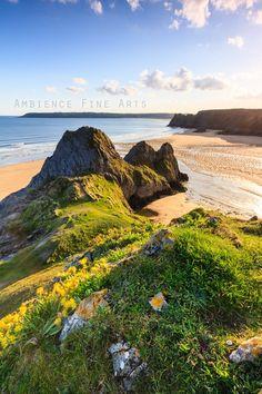 Three Cliffs Bay, Wales