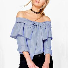 Back To Search Resultswomen's Clothing Ingenious Streetwear Womens Tops And Blouses Summer 2019 Long Sleeve Strapless V-neck Lantern Sleeve Bow Belt Bandage Tops Chemise Femme Durable In Use