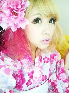 Kinda obsessed with gyaru makeup right now. Gyaru Fashion, Ulzzang Fashion, Kawaii Fashion, Asian Fashion, Japanese Fashion Trends, Japanese Street Fashion, Tokyo Fashion, Ideal Beauty, My Beauty
