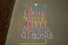 Sidewalk Chalk Art, Insta Photo Ideas, Summer Ideas, Diy Ideas, Inspirational Quotes, Signs, School, Drawings, Projects