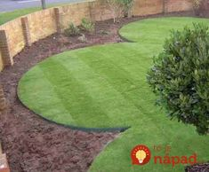 I like the professional way a properly edged lawn looks, and I want to try it on my own lawn very soon. Answer: You need to know the look you are trying to. Landscape Edging Borders, Lawn Edging, Garden Borders, Outdoor Steps, Outdoor Landscaping, Front Yard Landscaping, Landscaping Ideas, Back Gardens, Outdoor Gardens