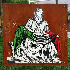 Mr Savethewall - street art- Expo 2015 milano