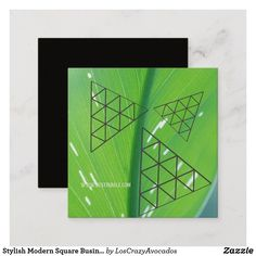 Shop Stylish Modern Square Business Card Earth Colors created by LosCrazyAvocados. Company Business Cards, Earth Color, Artist Gallery, Geometry, Color Pop, Things To Come, Stylish, Colors, Modern
