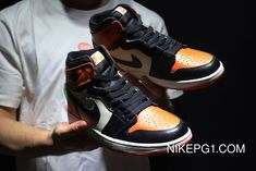 "4ee7906720d7 Air Jordan 1 Retro High OG ""Shattered Backboard"" Black Starfish-Sail Top  Deals"
