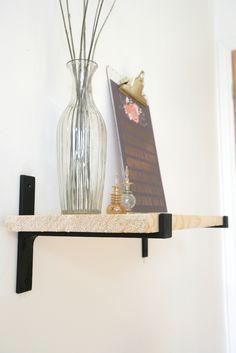 étagère industrielle équerre décorative en fonte / T Shaped cast iron bracket for you shelves