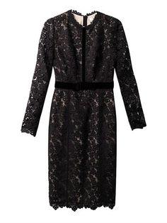 Cherise long-sleeved lace dress | Erdem | MATCHESFASHION.COM