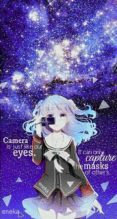 Love the anime Charlotte! Sad Anime Quotes, Manga Quotes, Manga Girl, Manga Anime, Anime Art, Beautiful Anime Girl, Anime Love, Charolette Anime, Anime Crying
