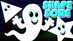 the shapes song | ghost shapes | halloween song | scary rhymes | nursery...