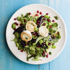 Grilled goats' cheese and beetroot salad is the perfect lunch or light supper