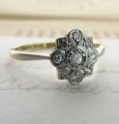 Antique Engagement Ring frost-me