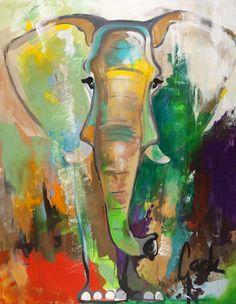 Dieses originelle Gemälde von Künstler Gade verleiht deinen vier Wänden das gewisse Etwas! Auf Leinwand von Hand gemalt erhältst du hiermit ein Premium-Produkt der Spitzenklasse!Gefertigt wurde das Werk komplett in Handarbeit in Dänemark von Malerifabrikken. www.paintthings.de