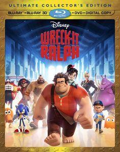 Wreck-It Ralph Blu-ray 3D combo pack