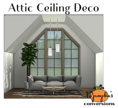 """13pumpkin31: """" October Fest Day 13 at Hell Has Spoken S2 to S4 Attic Ceiling Deco • 12 meshes • 73 colors DOWNLOAD """""""