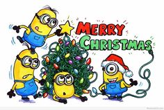 Top Minions Сhristmas pictures (08:14:27 PM, Saturday 03, December 2016 PST) – 40 pics