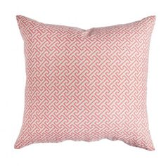 Coral Fretwork pillow cover by Caitlin Wilson textiles - why oh why are you $55 for a 14x20?