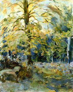 Forest Of Fountainbleau - Berthe Morisot