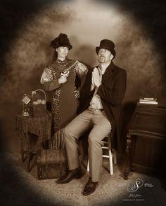 Why I oughtta. At Silk's Saloon Olde Tyme Photos in Glenwood Springs, CO at Glenwood Caverns Adventure Park Old Time Photos, Family Photos, Couple Photos, Photo Backdrops, Photo Shoots, Colorado, Adventure, Park, Lighting