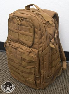 """5.11-TACTICAL Rush 24 Backpack. My current """"everything"""" bag."""