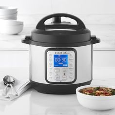 Instant Pot Duo Plus Mini 9-in-1 Multi-Use Programmable Pressure Cooker, 3-Qt. #williamssonoma