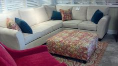 Miskellys Furniture-L shape couch
