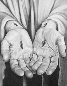 Jesus' Hands  11X14 Print by HiDBDesigns on Etsy, $20.00
