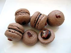 Chocolate Bacon Macarons | Tasty Kitchen: A Happy Recipe Community!