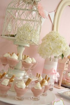{Fascinating Fetes} Sweet Birdie Baby Shower - Southern Belle's Charm
