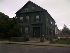 Lizzie Borden's house - Fall River, MA