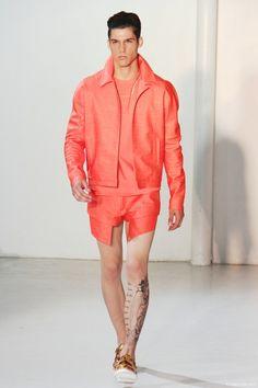 Mugler Spring 2013 Menswear Show