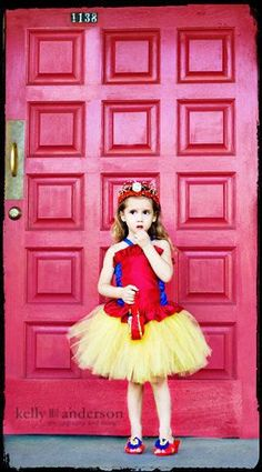 2PC Snow White corset top Costume 01.2.3.4.5t by RoseGardenBridal