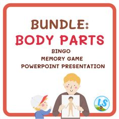 English Worksheets For Kids, English Language Learning, Memory Games, Bingo Cards, Teacher Favorite Things, Learning Resources, Body Parts, Presentation, Author