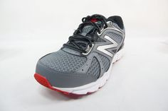New Balance M560LR6 Running Men'S Shoes Grey / Black / Red Size 7.5 4E #NewBalanceAthleticShoeInc #RunningCrossTraining