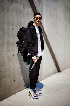 On the street… Wooseok Byun Seoul fashion week 2014 F/W | echeveau